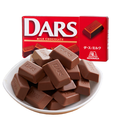 【DARS牛奶巧克力1盒】 森永日本進口絲滑DARS巧克力進口休閑零食小吃食品 多口味