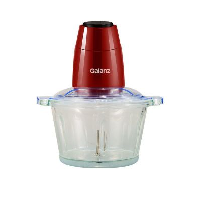 格蘭仕(Galanz)絞肉機多功能家用2L大容量四刀雙檔玻璃杯WJ2002攪拌機