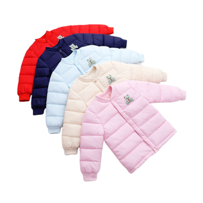 新款儿童羽绒棉服内胆秋冬季男女童棉衣保暖中小童棉袄内外穿