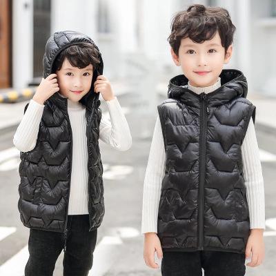 【品牌特賣】2019兒童羽絨棉馬甲小中大童男女寶寶小孩子背心馬甲保暖加厚冬 邁詩蒙(Mai Shi Meng)