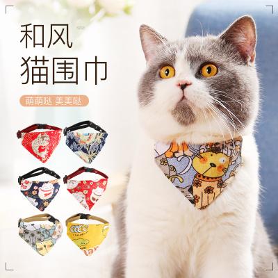 貓咪圍巾寵物狗狗三角巾貓圍脖圍兜圍嘴狗狗口水巾春夏寵物裝飾品
