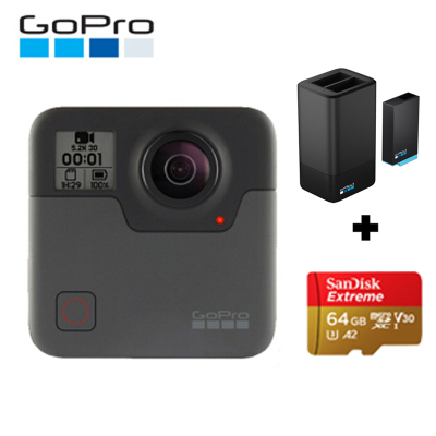 GoPro MAX全景相機高清運動相機水下潛水 4K戶外防水攝像機vlog 官方標配 MAX+雙充+64G卡