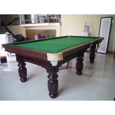 高端家用別墅辦公室休閑標準型臺球桌成人家用訓練大理石桌球臺美式黑八乒乓球桌二合一