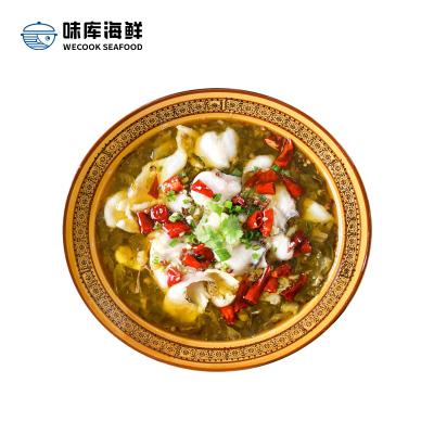 味庫 酸菜黑魚片350g/份*3份 酸菜魚酸菜魚片簡單美味