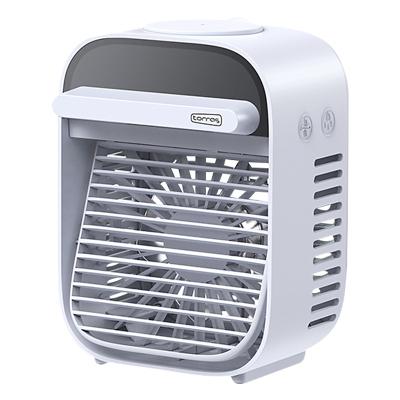 圖拉斯小風扇便攜式usb風扇小型學生小宿舍床上迷你超靜音辦公室桌上電扇桌面小空調大風力制冷噴霧充電水冷