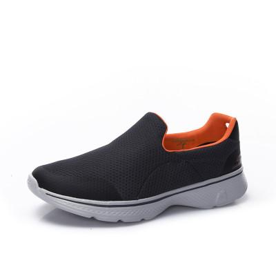 Skechers斯凯奇Go Walk4一脚套男鞋 轻质透气健步休闲鞋54152/NVGY