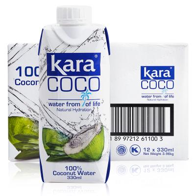 印尼進口Kara(佳樂)椰子水 330ml*12瓶裝