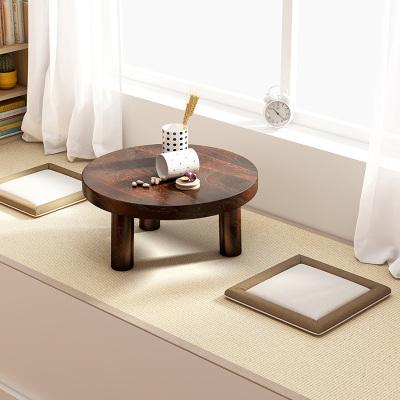 飄窗小茶幾家用炕桌小茶桌日式實木小方桌矮桌迷你臥室榻榻米桌子哇哎哩