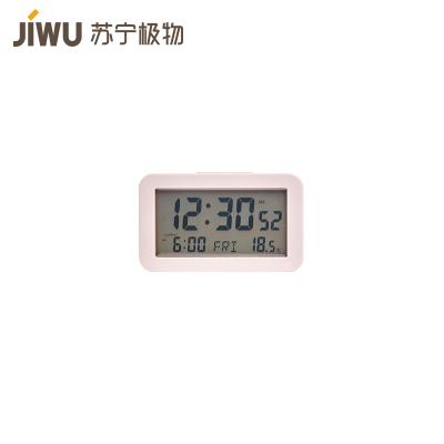 JIWU брэндийн ширээний цаг LCD олон үйлдэлт CLC001A  ягаан