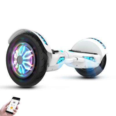 阿尔郎(AERLANG)智能平衡车儿童双轮电动体感思维越野10吋扭扭车 N2-D 迷你白