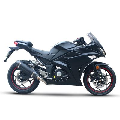 新款国四V6摩托车跑车电喷200-400ccR3小忍者机车大型公路趴赛可上牌
