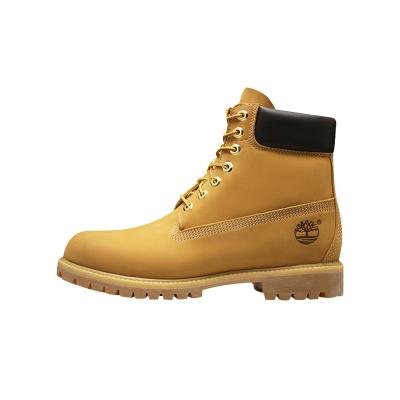 Timberland添柏嵐PREMIUM戶外踢不爛防水牛皮橡膠底經典6英寸大黃靴 男鞋 靴子 男10061 W寬楦