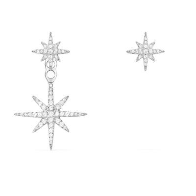 【apm MONACO】孫儷同款不對稱流星星耳環S925銀耳飾時尚精致女士耳釘穿孔耳墜高貴通用銀飾品