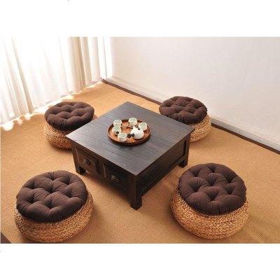 家具日式韩式实木烧桐木炕桌小茶几榻榻米床上电脑炕桌新古典飘窗