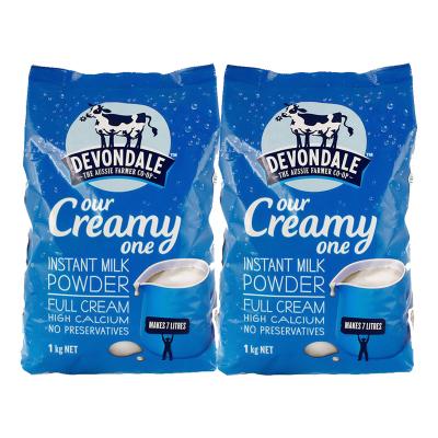 2件裝|德運(Devondale) 全脂高鈣成人奶粉 1KG 成人奶粉