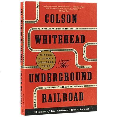 The Underground Railroad 英文原版歷史小說書 地下鐵道 美國國家圖書獎 英文版普利策小說獎