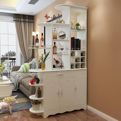 伊莱菲尔 欧式客厅玄关柜 间厅柜 隔断柜屏风鞋柜装饰柜隔厅鞋柜