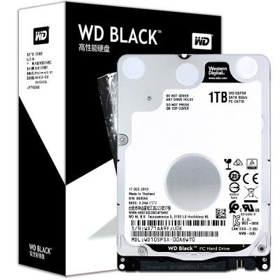 西部數據(WD) WD10SPSX黑盤1T硬盤7200轉64M筆記本機械硬盤7MM