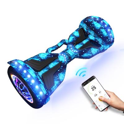 阿尔郎(AERLANG)电动代步平衡车 智能体感成人两轮车儿童双轮漂移车思维车 双轮-10吋大轮N2-D蓝星空