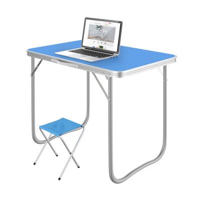 折疊桌擺攤戶外折疊桌子家用簡易折疊餐桌椅便攜式小桌折疊70*50