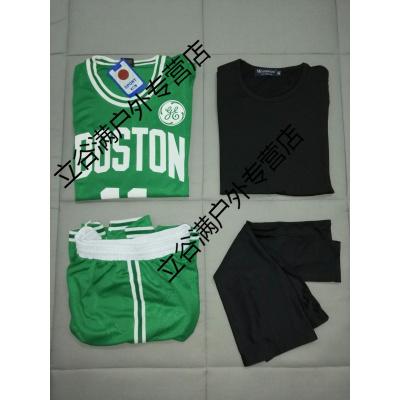 凱爾特人籃球服套裝男女歐文短袖球衣上衣單件背心定制印號