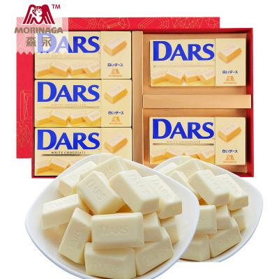 【DARS白巧克力禮盒】森永日本進口絲滑DARS巧克力進口休閑零食小吃食品送女生表白 多口味