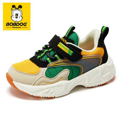 巴布豆BOBDOG HOUSE童鞋2020秋季新款機能鞋百搭小童休閑運動鞋男舒適學步鞋子BJ8756