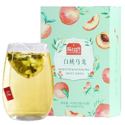 陌上花开白桃乌龙茶白桃乌龙蜜茶水果味冷泡茶组合三角茶包袋泡茶