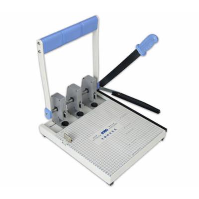 干部人事檔案專業打孔機 三孔打孔機切紙兩用打孔器 WJ-A(A4)250型