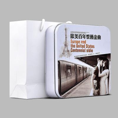 正版歐美百年懷舊金曲cd光盤經典英文老歌情歌黑膠唱片CD汽車碟片