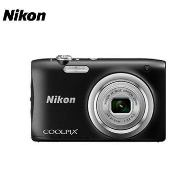 尼康(Nikon) COOLPIX A100 (黑)數碼相機 有效像素約2005萬 電池類型鋰電池 2.7英寸屏幕