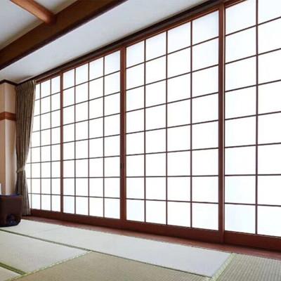 實木格子門定制網紅推薦榻榻米門格子門飯店屏風隔斷包間移動 推拉 隔斷 和室門