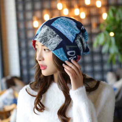 围脖套女冬保暖头套加厚街舞嘻哈骑行面罩防风帽百变魔术方头巾女