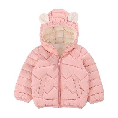 安麗虎尼2020兒童棉服男童耳朵款女童棉衣中小童冬季童裝寶寶棉襖外套90-130cm