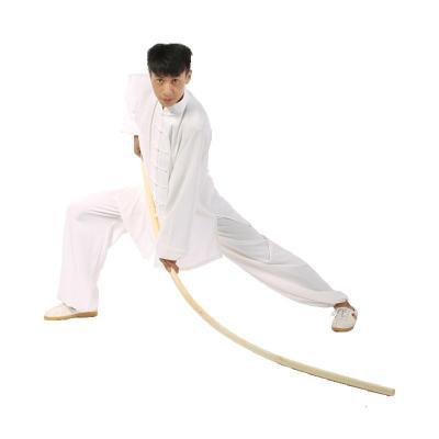 武术棍白蜡杆 太极棍金箍棒棍子木棍防身棍少林齐眉棍开背棍形体 长1.6米、粗3.5厘米