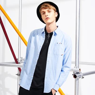 Эрэгтэй цэвэр даавуун сорочкан цамц size L цэнхэр ACC705119