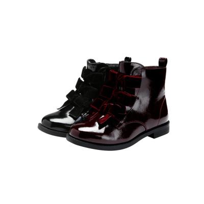 巴拉巴拉女童馬丁靴兒童靴子短靴2019冬季新款小童皮靴甜美韓版女