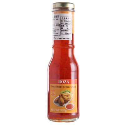泰国进口 露莎士(ROZA)泰式甜辣酱320g 西餐调料 方便易用