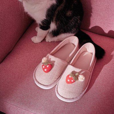春秋月子鞋7月份孕婦拖鞋夏季包跟薄款產后8月份產婦防滑室內夏天