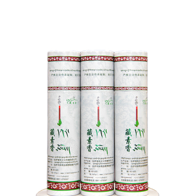 【中華特色館】西藏館 藏香 藏素香 西藏楚布寺藏素香五明佛學院研制 天然手工藏藥香混合香味便攜香桶