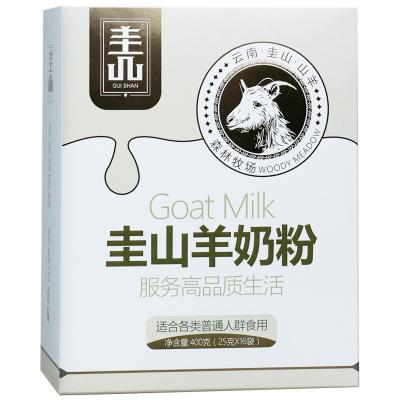 百年龍騰高鈣圭山羊奶粉無添加蔗糖 女士中老年人學生成人奶粉400g