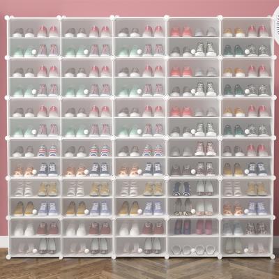 鞋架简易门口家用收纳经济型多层大容量防尘宿舍小窄置物鞋柜