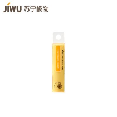 蘇寧極物 無色水潤唇膏檸檬味 3.1g 保濕補水防干裂男女無色唇膏