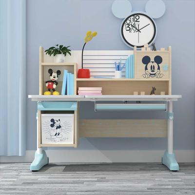 歐梵森 迪士尼兒童學習書桌男孩作業臺可升降小學生女孩寫字桌椅套裝簡約現代 學習桌OS550