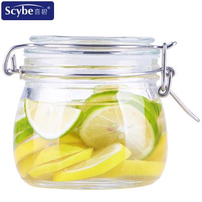 【Scybe】喜碧潘多拉500ML密封罐玻璃儲物罐玻璃瓶蜂蜜瓶酵素瓶奶粉糖果罐泡酒瓶