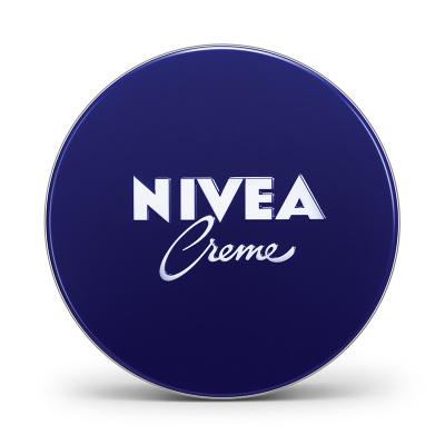 妮维雅(NIVEA)润肤霜60ml 乳液面霜 素颜霜 德国进口 蓝罐 滋润营养 男女通用 新老包装随机发货