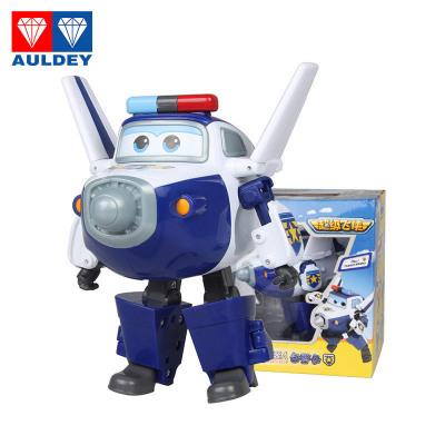 奥迪双钻 AULDEY 超级飞侠 儿童玩具男孩益智变形机器人-包警长 710250