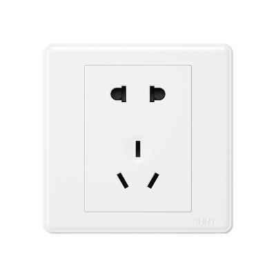 正泰开关插座7M系列86型插座一开多控暗装5五孔插座面板白色家用电源插座