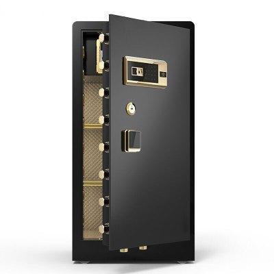 黑石保險柜高全鋼防盜辦公家用大型保險箱指紋密碼入墻超大空間保險箱