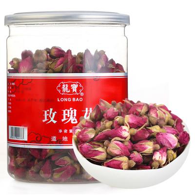 龍寶參茸玫瑰花茶花草茶葉重瓣紅玫瑰泡水茶飲